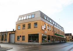 Bild på butiken i Ljungby