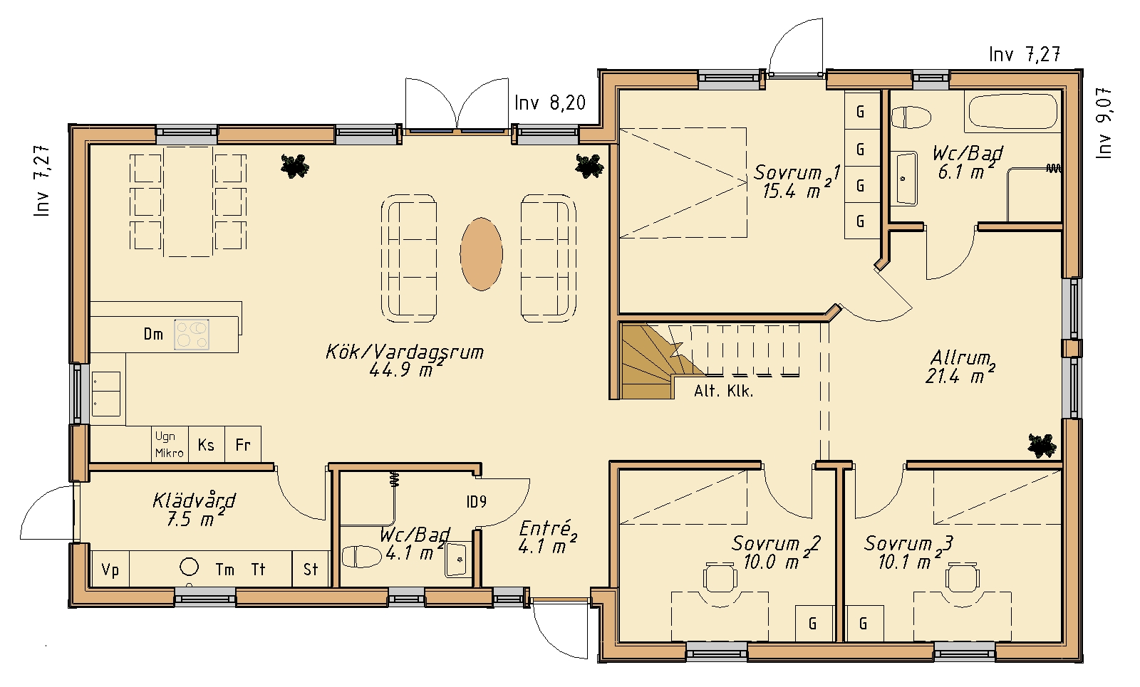 planlosningsbild 1 av KLIPPAN