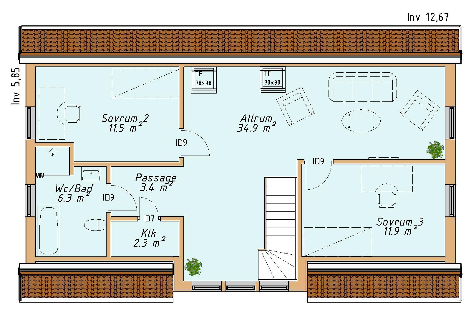 planlosningsbild 2 av MAGLARP