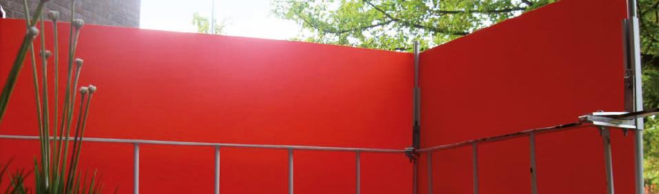 skydd till balkongräcke