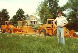 Brothers Andersson transitioned from truck to wheel loaders and developed what is today Ljungby machine.