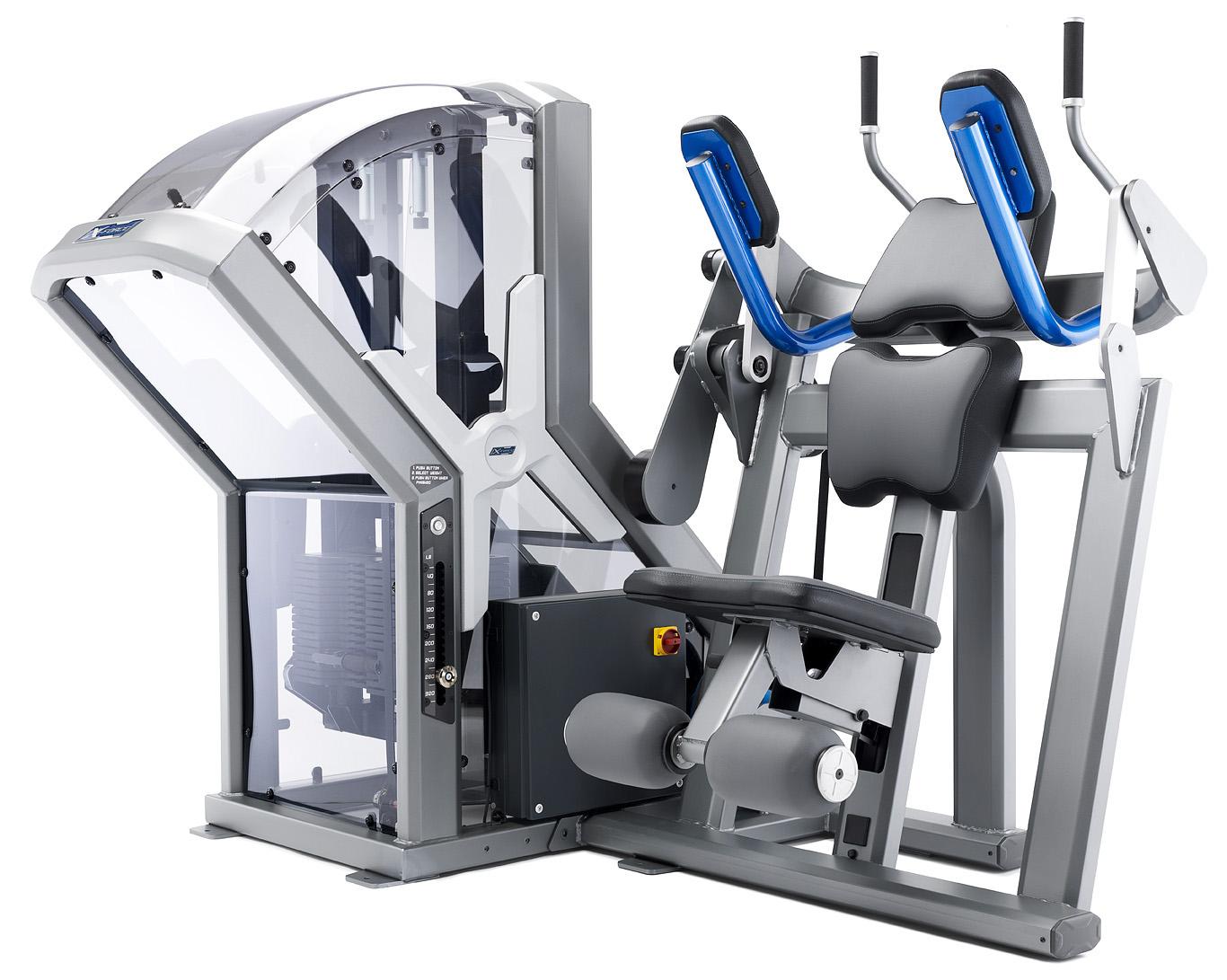 machine abdominal crunches